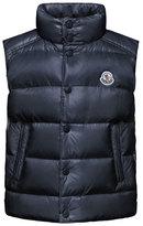 Moncler Tib Down Puffer Vest, Navy, Size 4-6