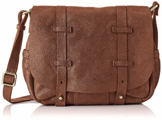Mila Louise Womens 3017G Cross-body Bag Brown Brown (CANNELLE 57)