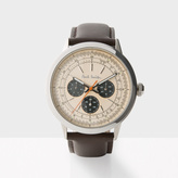 Paul Smith Men's Rose Gold And Brown 'Precision' Watch