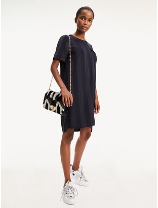 Tommy Hilfiger Relaxed Fit Stripe Dress