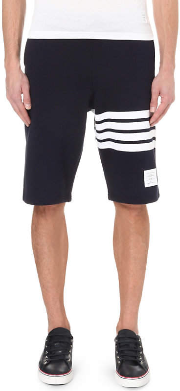 Thom Browne Striped cotton-jersey shorts