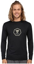 VISSLA Everyday Long Sleeve Surf Tee UPF 50