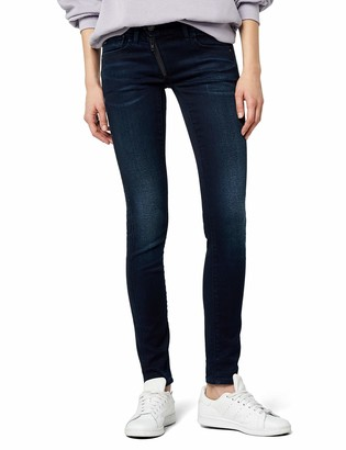 G Star Women's Lynn Zip Midrise Skinny Stretch Denim Dark Aged Jean 31/32