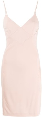 DSQUARED2 Sweetheart Neckline Mini Dress