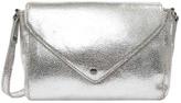Petite Mendigote Flo Crackled Leather Shoulder Bag