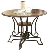 Acme Jaimey Dining Table - Oak and Antique Black
