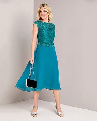 Marisota Julipa Lace Overlay Dress