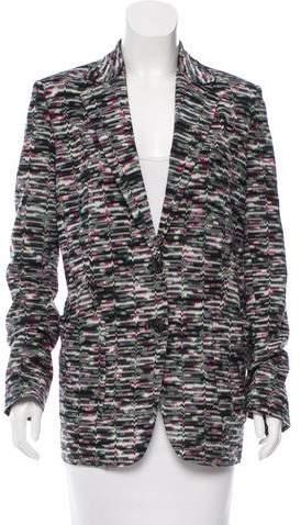 Missoni Fall 2016 Patterned Blazer