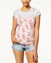 Ultra Flirt Juniors' Layered-Look T-Shirt
