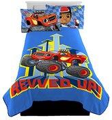Nickelodeon Blaze Plush Fleece Twin Blanket