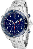 Omega Seamaster O21230445003001 Men's Round Silver Stainless Steel Watch