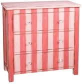 The Well Appointed House Pink Three Drawer Chest