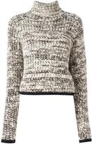 Carven 'Tweedy Turtleneck' sweater