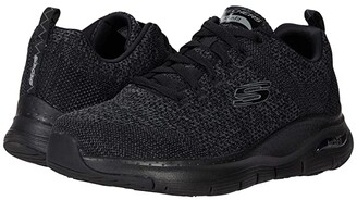 Skechers Arch Fit Paradyme (Red/Black) Men's Shoes