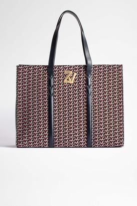 Zadig & Voltaire ZV Initiale Le Tote Monogram Bag