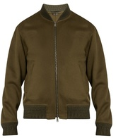 Jil Sander Wool And Cashmere-blend Bomber Jacket