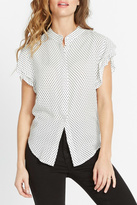 Buffalo David Bitton Polka Dotty Shirt