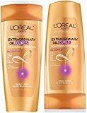 L'Oreal Nourishing Shampoo Conditioner Set 12.6 Oz Extraordinary Oil Curls