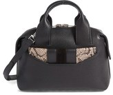 Alexander Wang Small Rogue Leather Satchel - Black