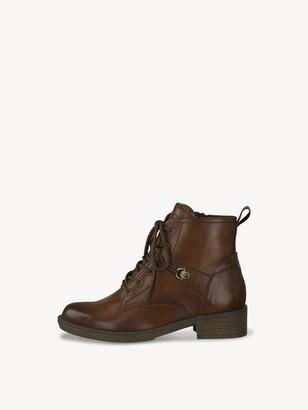 Tamaris Tan Lace Up Boot - 38