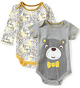 Baby Starters Baby Boys 3-12 Months Bear Bodysuit Two-Pack