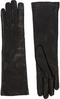 Barneys New York Women's Cashmere-Lined Long Gloves-Black
