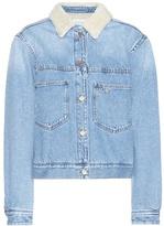 Etoile Isabel Marant Isabel Marant, Étoile Camden Embroidered Denim Jacket