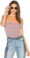 Michael Lauren Parket Off the Shoulder Top