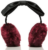 Kate Spade Earmuff with satin bow