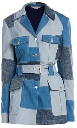 Stella McCartney Patchwork Shades Safari Jacket