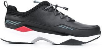 HUGO BOSS Contrast Panel Toggle Detail Sneakers