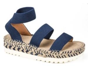 White Mountain Women's Kolton Platform Sandals Women's Shoes