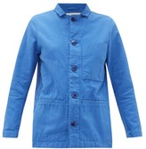 Toogood - The Carpenter Single-breasted Cotton Jacket - Womens - Blue