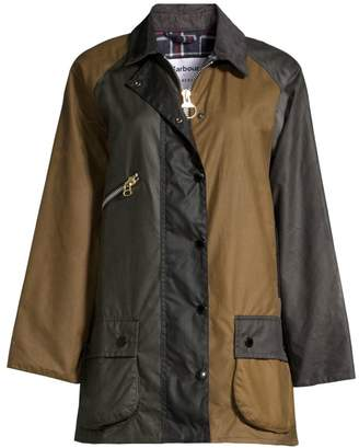 Barbour x Alexa Chung Oversized Patch Jacket