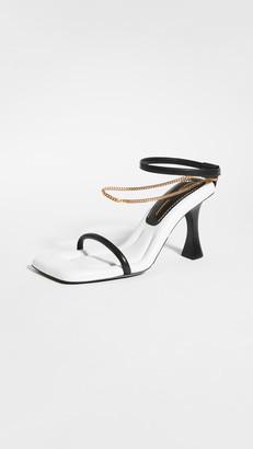 Proenza Schouler Chain Strap High Sandals