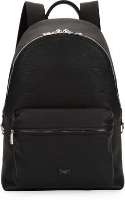 Dolce & Gabbana Men's Solid Leather Backpack