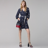 Tommy Hilfiger Printed Silk Dress Gigi Hadid