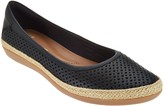Clarks Collection Leather Espadrilles - Danelly Adira