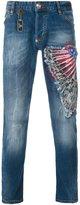 Philipp Plein 'Rough' jeans