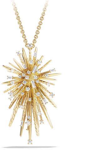 David Yurman Supernova Spray Pendant Necklace