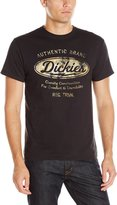 Dickies Men's Short Sleeve Spark Tee, Black