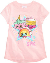 Shopkins Graphic-Print T-Shirt, Little Girls (2-6X)