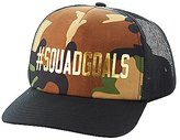 Charlotte Russe ,SquadGoals Camo Trucker Hat