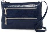 Hobo Mara Leather Zipper Crossbody Bag