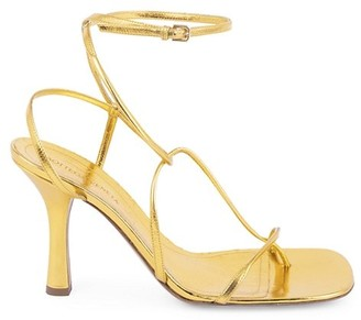 Bottega Veneta Strappy Leather Sandals