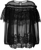 Alberta Ferretti ruffled blouse - women - Silk/Cotton/Polyester - 44