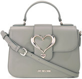 Love Moschino love buckle cross body bag - women - Polyurethane - One Size