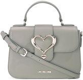 Love Moschino love buckle crossbody bag - women - Polyurethane - One Size