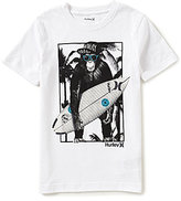 Hurley Big Boys 8-20 Monkey Biz Short-Sleeve Graphic Tee