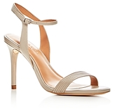 Halston Women's Whitney Leather High Heel Sandals